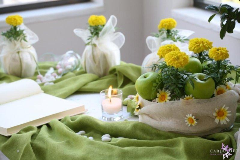 Τραπέζι ευχών με καλοκαιρινό θέμα
