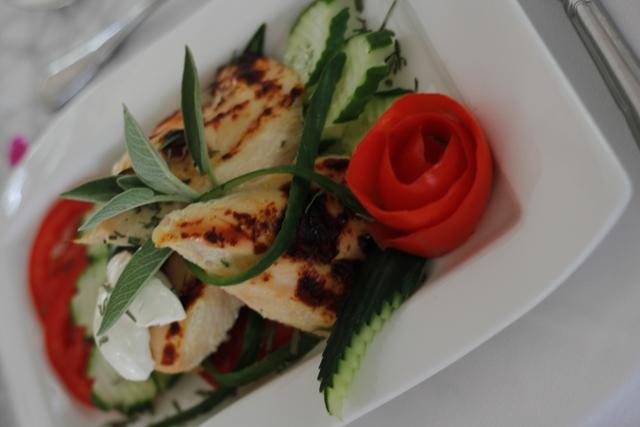 Συνταγη για κοτοπουλο μαριναρισμένο με γιαούρτι και estragon