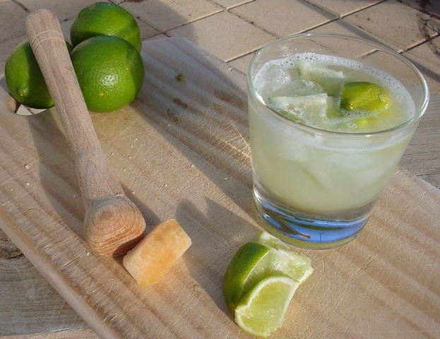 Συνταγή Cocktail Caipiroska