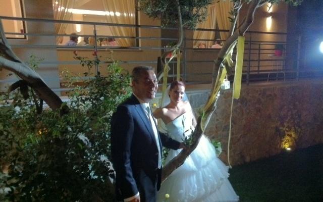 Φωτογράφιση με ρομαντικό θέμα σε Γάμο