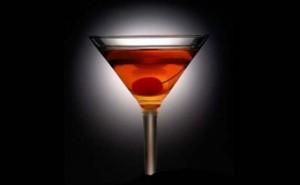 συνταγή για cocktail manhattan