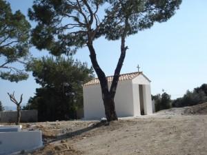 εκκλησία στο κτήμα Carpe Diem στην Πάρνηθα