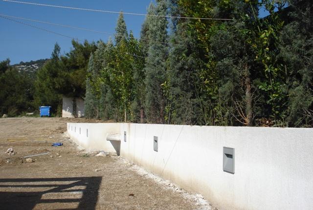 Φυτεύσεις στο κτήμα δεξιώσεων Carpe Diem στην Πάρνηθα